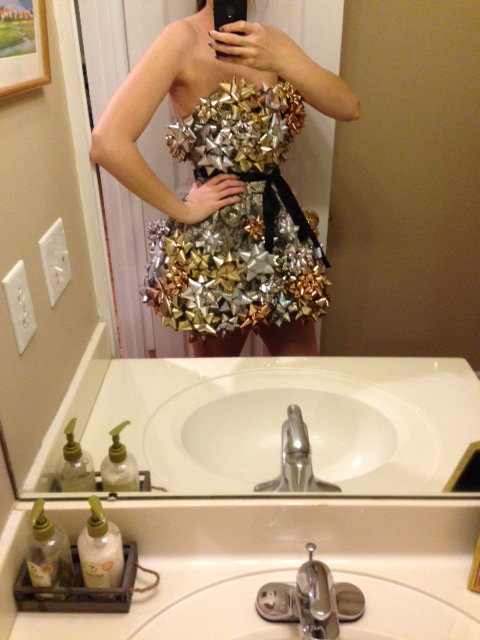 DIY Tacky Costume - tiffany davis olson