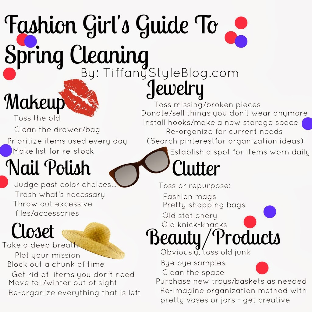 fashion girl s guide to spring cleaning   tiffany davis olson