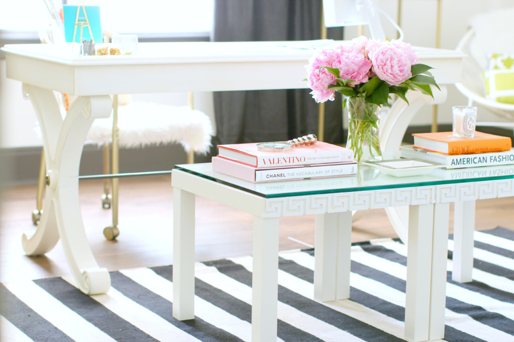 Office chair makeover tiffany davis olson - Ikea table basse lack ...